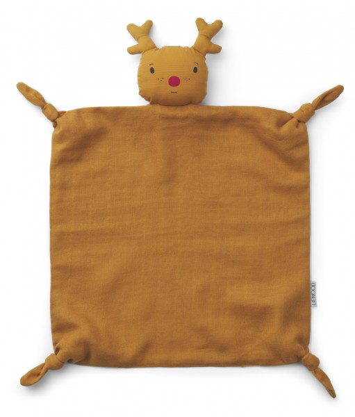 Liewood Agnete Schmusetuch - Reindeer mustard
