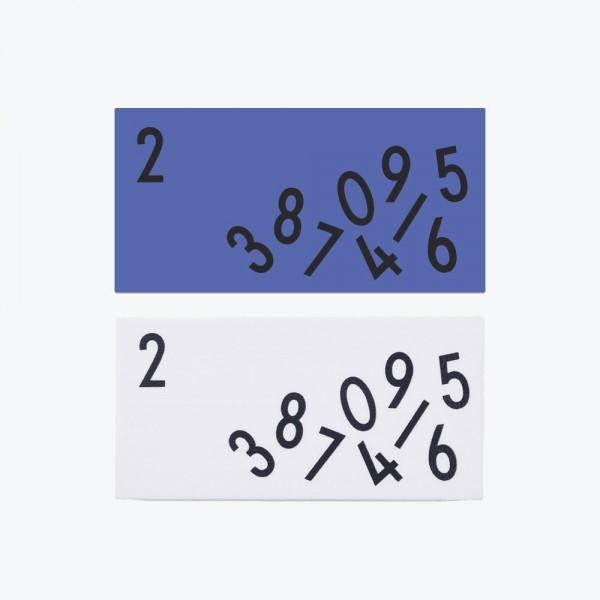 Design Letters Radiergummi 2er Set
