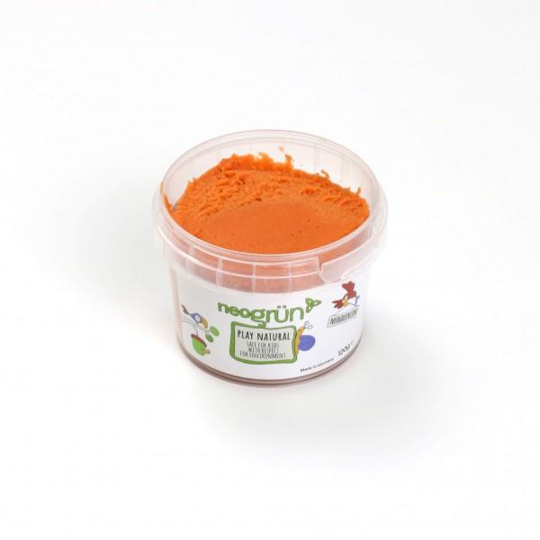 neogrün Easy Knete einzeln - orange