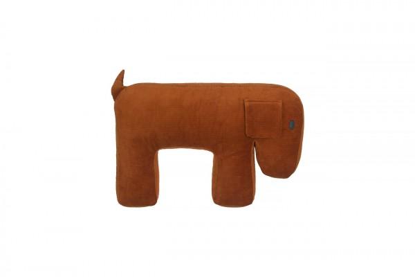 Stillkissen Hund MOLLY - caramel