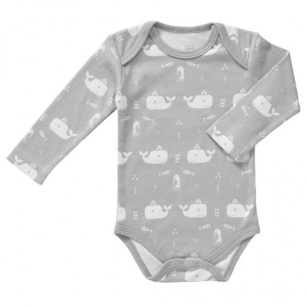 Fresk Body Langarm - Whale grey