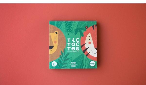 londji TIC TAC TOE - Lion & Tiger