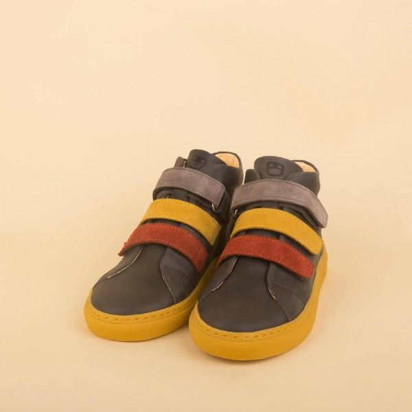Velcro Mid Sneaker - grey