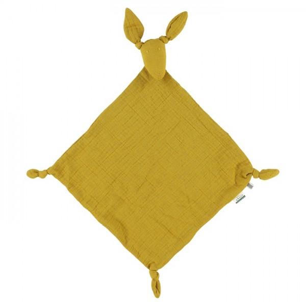 Les rêves d'Anais Kangaroo muslin cloth - Bliss mustard