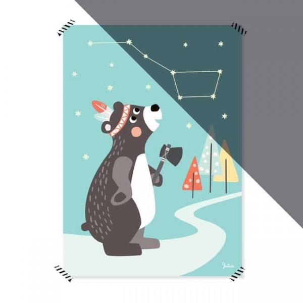 Julica Poster 50x70 - Großer Bär