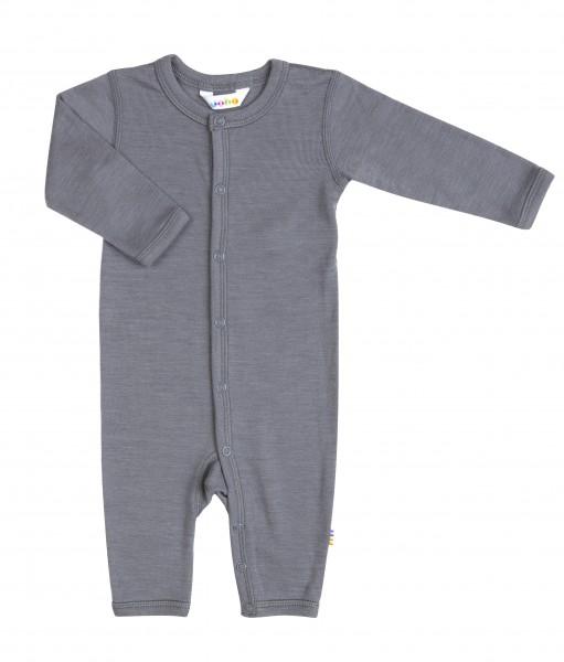 Jumpsuit Wolle/Seide - grau