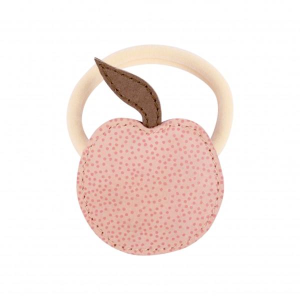 Donsje Nanoe Fruit Hair Tie - Peach