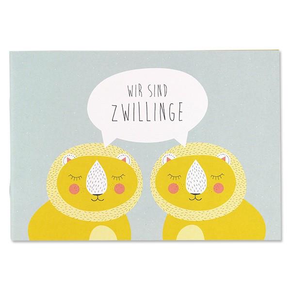 ava & yves Erinnerungsbuch - Wir sind Zwillinge