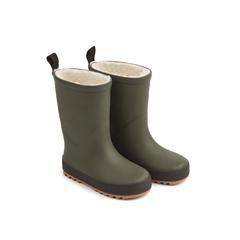Liewood Mason Thermo Rain Boot - HUNTER GREEN/BLACK MIX