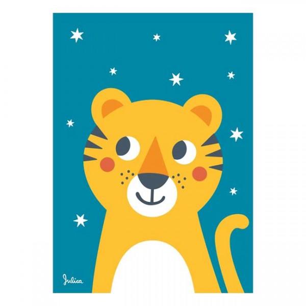 Julica Poster 50x70 - Tiger