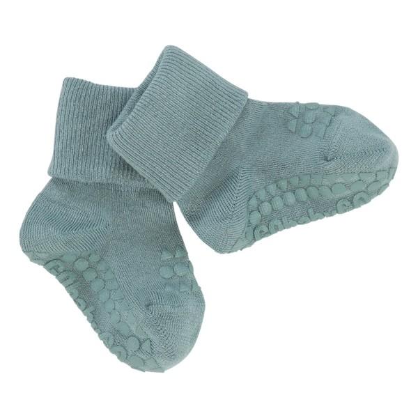 GoBabyGo Antirutsch-Socken BAMBOO - Dusty Blue