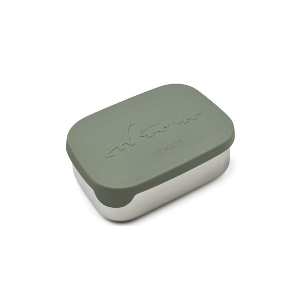 Liewood Arthur lunchbox - dino faune green