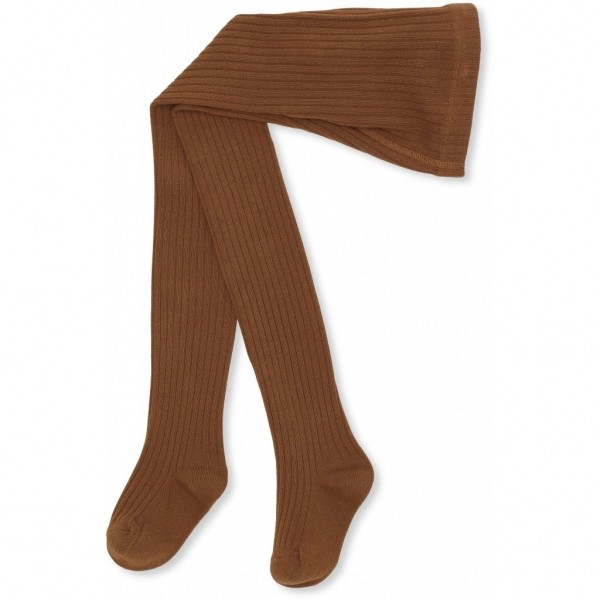 Konges Slojd MATEO TIGHTS RIB - caramel