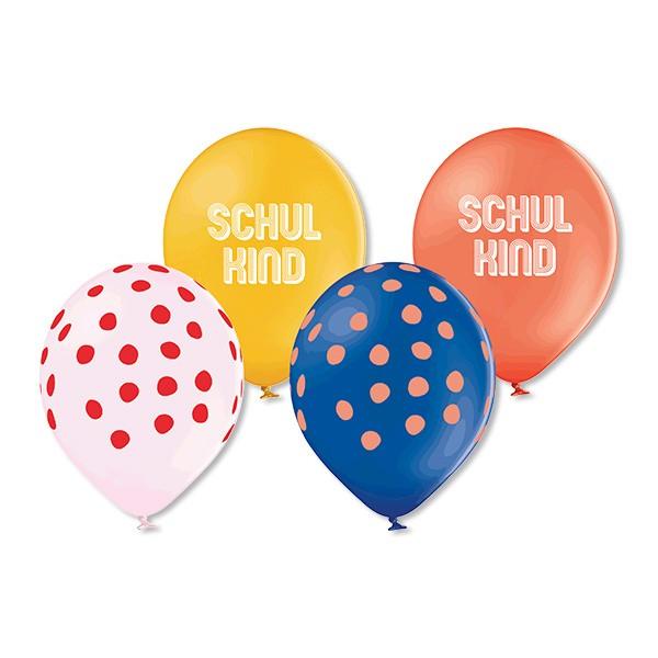 ava & yves Ballons aus 100% Naturkautschuk - Schulkind