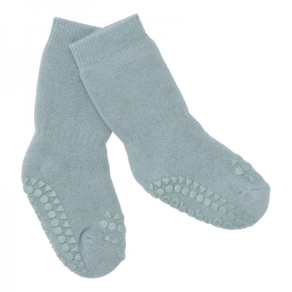 GoBabyGo Antirutsch-Socken DUSTY BLUE
