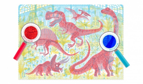 londji Discover the Dinos Puzzle