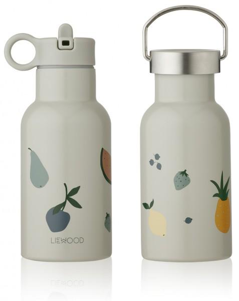 Liewood Anker Water Bottle 350ml - Fruit dove blue