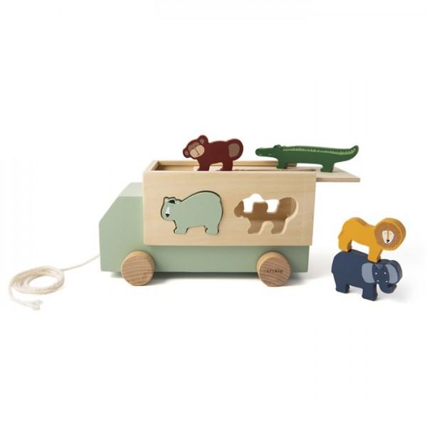 trixie Nachziehtruck - Sortierspielzeug
