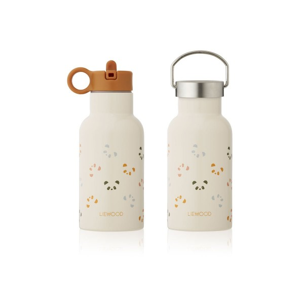 Liewood Anker Water Bottle 350ml - Panda sandy multi mix