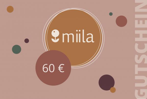 Geschenkgutschein 60€
