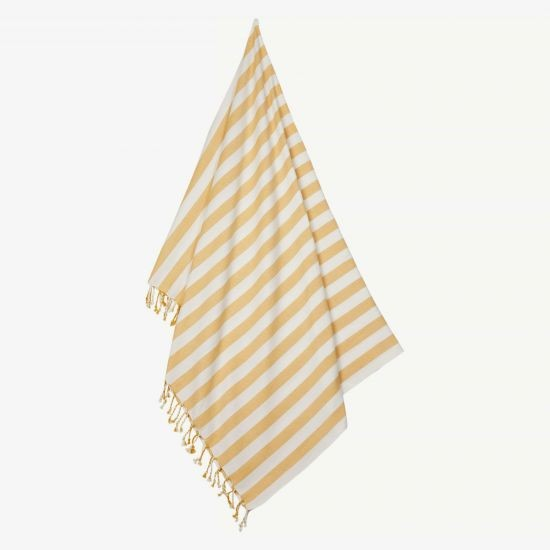 Liewood Mona Strandtuch - Yellow stripes