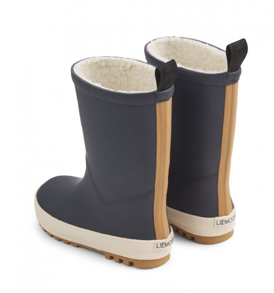 Mason Thermo Rain Boot - NAVY/CREME DE LA CREME MIX