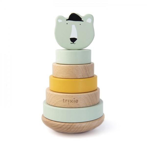 trixie Holz-Stapelturm - Mr. Polar Bear