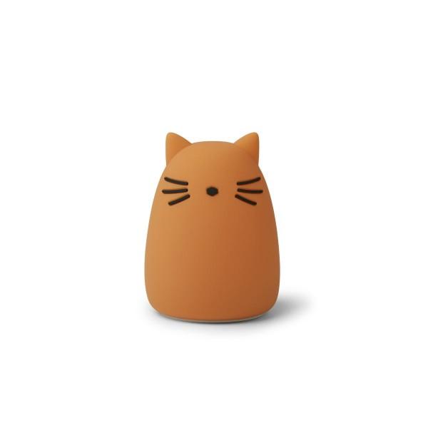 Liewood Winston night light - cat mustard