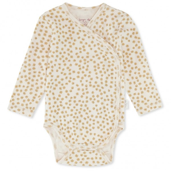 Konges Slojd Wickelbody Newborn - Buttercup Yellow