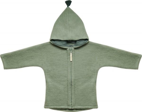 KitzHeimat Wollfleece Jacke JUN - Shady Green
