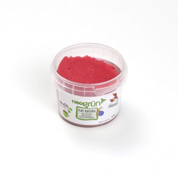 neogrün Easy Knete einzeln - rot