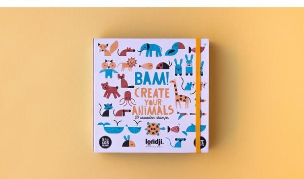 londji Stempelset ANIMALS