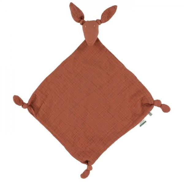 Les rêves d'Anais Kangaroo muslin cloth - Bliss rust