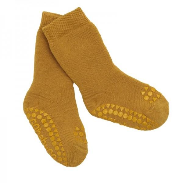 Antirutsch-Socken MUSTARD