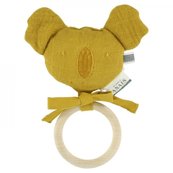Les rêves d'Anais Beißring Koala - Bliss mustard
