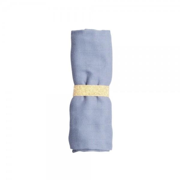 Fabelab Muslin Cloth 60 x 60 - Marina Blue