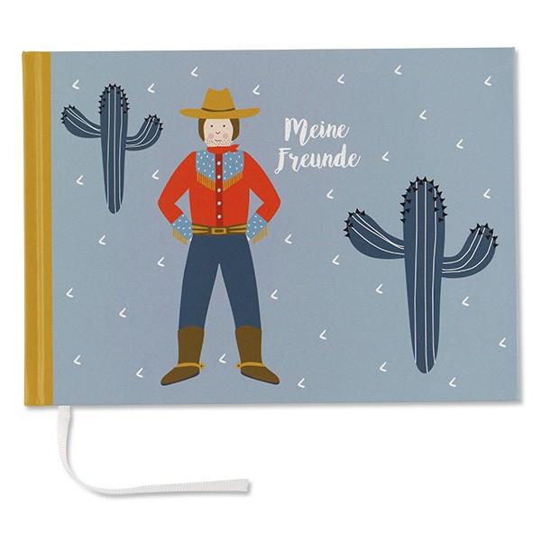 ava & yves Kindergarten-Freundebuch - Cowboy