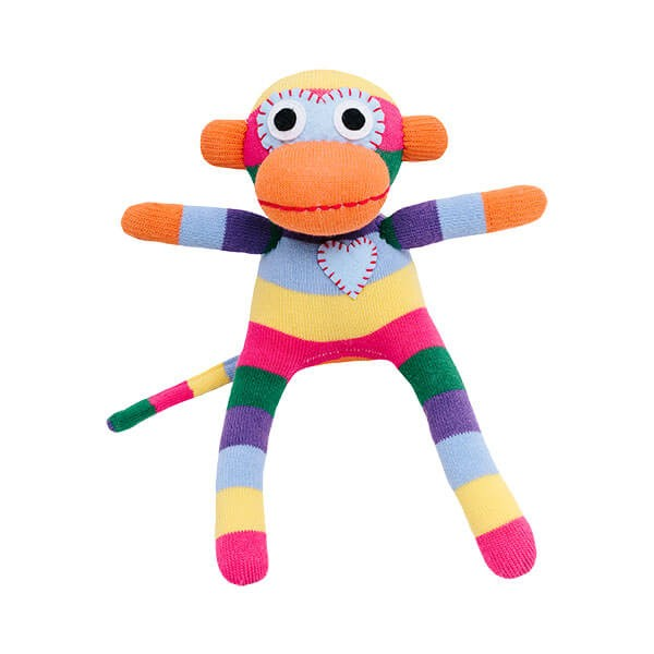 HickUps Sockenaffe MINI - Rainbow