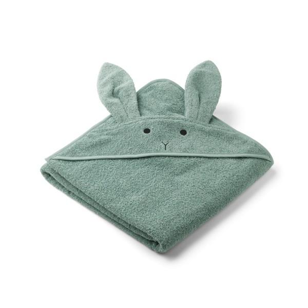 Kapuzenhandtuch Augusta 100x100 - rabbit peppermint