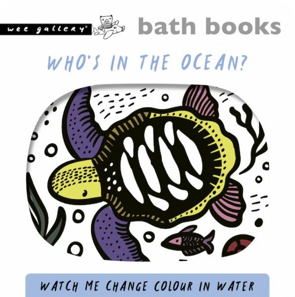 "Badebuch ""Colour Me"" - ocean"