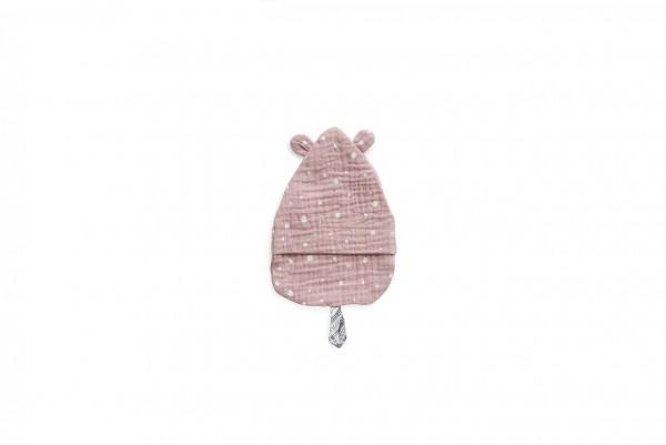 Waschhandschuh/ Schnullertuch - rosa