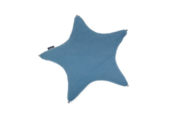 poofi Babykissen STAR - denim blue