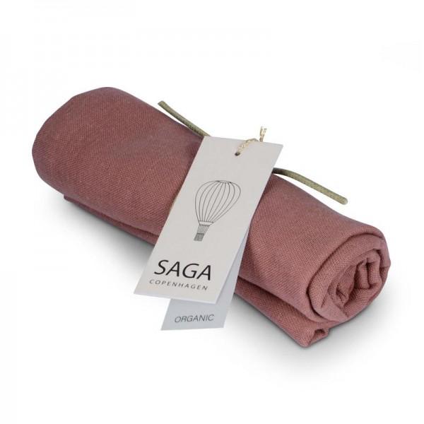 SAGA Musselin-Tuch Vidar 70x70 - burlwood