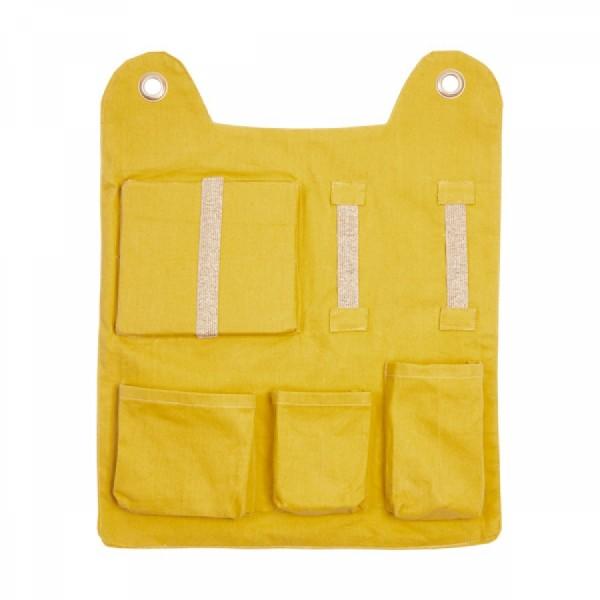 Fabelab Wall Pocket Utensilo - gelb