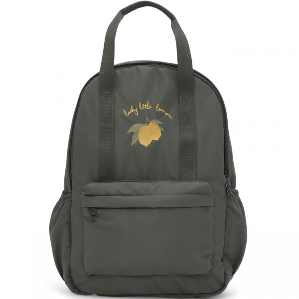 Konges Slojd Loma Kids Backpack Mini - Moss Grey
