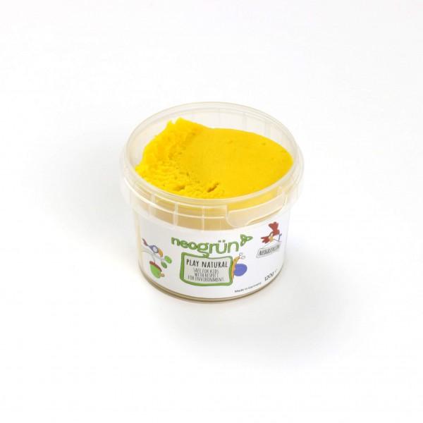 neogrün Easy Knete einzeln - gelb