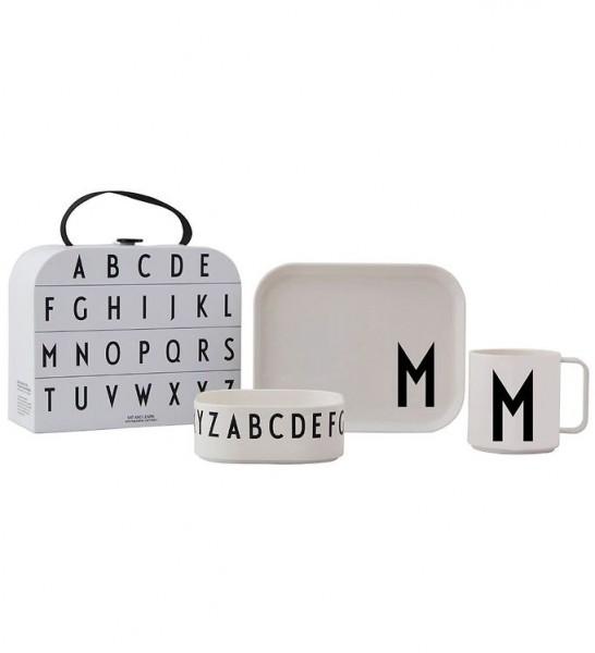 Design Letters Tritan Tableware Giftbox A-Z