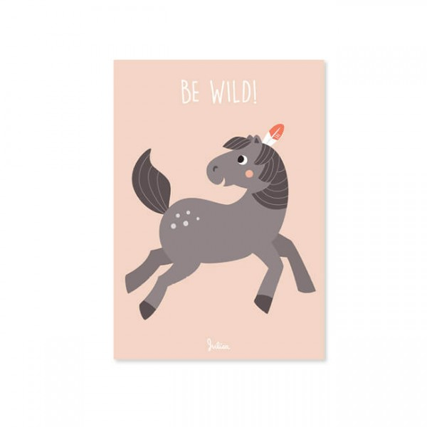 Poster A4 - Be Wild