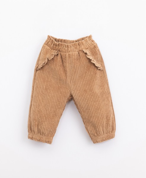 play up Corduroy Trousers - Paper