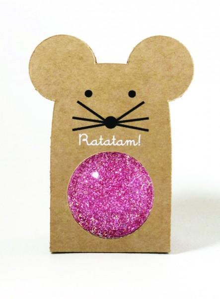 Flummi - Mouse Glitter Pink